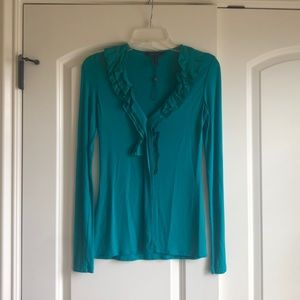 Brand new without tags, bcbg turquoise top